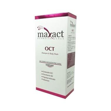 Maxact OCT Shampoo & Body Wash 250ml Renksiz